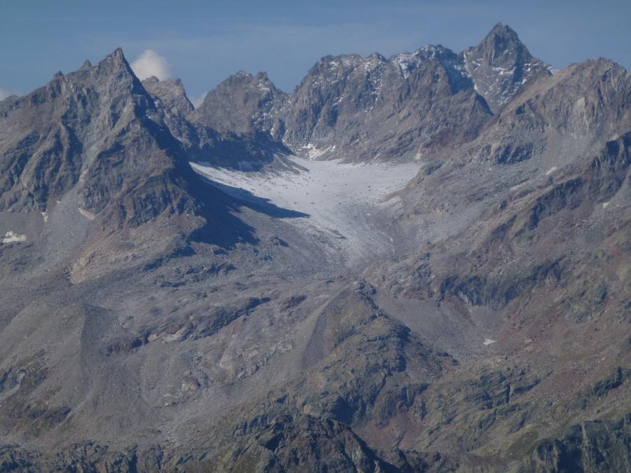 dalla tressi quel che resta del ghiacciaio di ciardoney