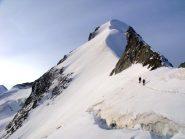 Verso la cresta nevosa