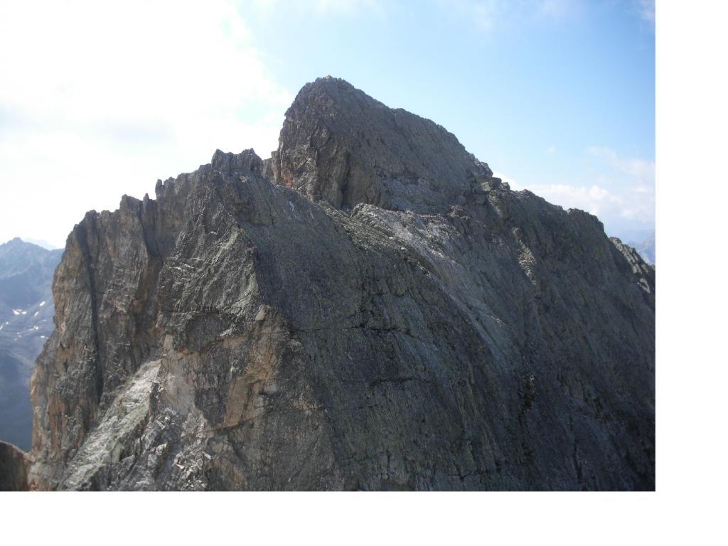 Il Roc de Valmeinier..dai pressi del Col de la Chapelle..