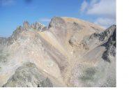 Vista sul Thabor dal Roc de Valmeinier..