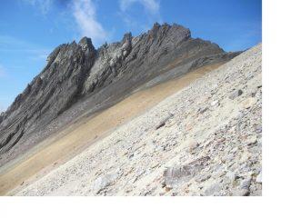 La Pointe des Angelieres (3097m)..dal sentiero al Thabor..