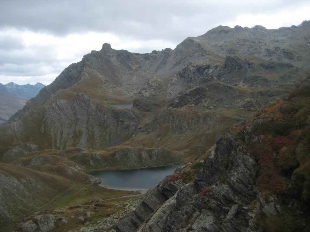 Lago Bleu salendo al Col Longet