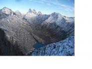 Les Aig. d'Arves e il Lac du Goleon..dalla cresta sud-ovest al Pic des Trois Eveches.