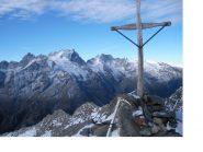 La Meije vista dal sommo del Pic des Trois Eveches