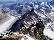 Parte finale della cresta dalla cima