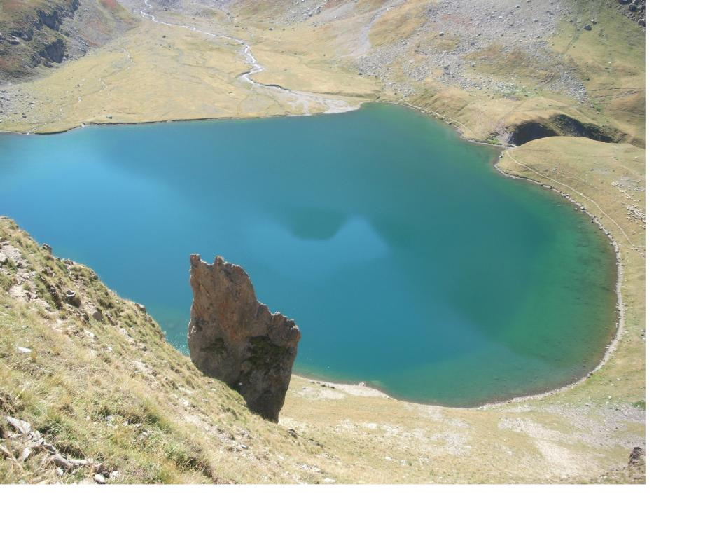 Uno scorcio suggestivo del lago..