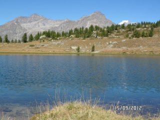 Lago di Dres-Il Gran Paradiso