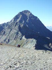 Terreno in prossimita' della cima, Tersiva sullo sfondo