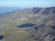Lago e rifugio Miserin, dalla cima