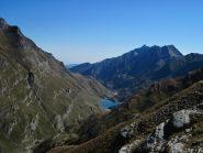 Lunella e Grand'Uia con il lago di Malciaussia