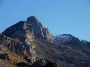 la poca neve sotto la Sella d'Asti