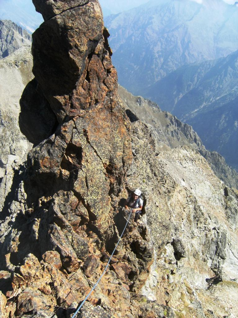 Matto (Monte, Cima Est) Cresta Est 2012-09-16