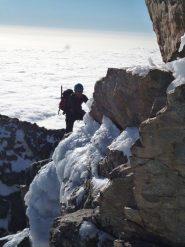 Incrostazioni di ghiaccio evitabili sulla parte alta