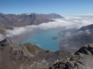il lago dalla cima