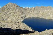 Moncimour e lago Gelato dal passo