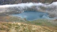 il Lago di Malciaussià finalmente è visibile ! (22-9-2012)