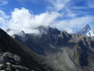 Gran Golliaz (sx) e Monte Bianco & Gran Jorasses (dx)