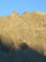 La parete al primo sole