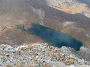 Lago Perrin dalla vetta
