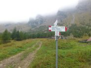 segnaletica all'alpe Valle