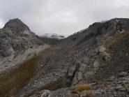 08 - il vallone percorso in discesa scendendo dal Grand Argentier