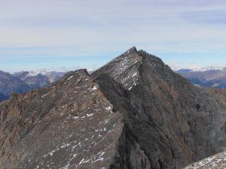 15 - Dal Monte Platasse vista sulle Rocce del Rouit e la Rognosa del Sestriere