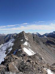16 - cima Est della Cresta S.Michele, vista dalla Cima Ovest