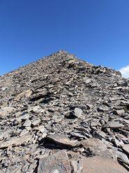 14 - arrivo sulla cima ovest della Cresta S.Michele