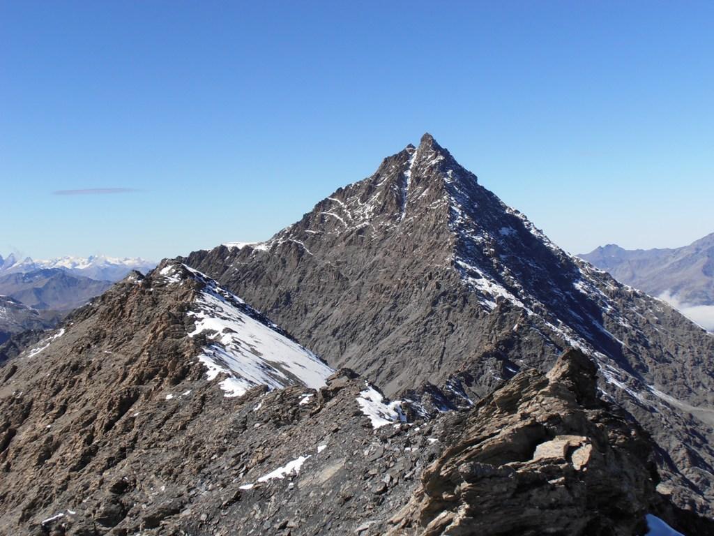 20 - Cresta S.Michele e Pierre Menue visti dalla Cresta S.Michele