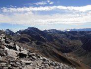 15 - dalla Cima Ovest della Cresta S.Michele si vede quasi tutto l'itinerario percorso