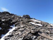 23 - Punta S.Michele vista da Ovest, scendendo il pendio francese