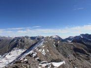 18 - Punta S.Michele vista dalla cima Est della Cresta S.Michele