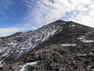 13 - la cresta diventa meno ripida introrno ai 3000mt