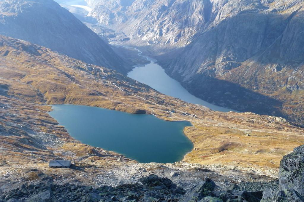 Sidelhorn / Aaregrat Da Ulrichen per il Grimselpass 2012-10-02