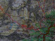cartina kompass n°93