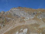 parte bassa cresta ovest