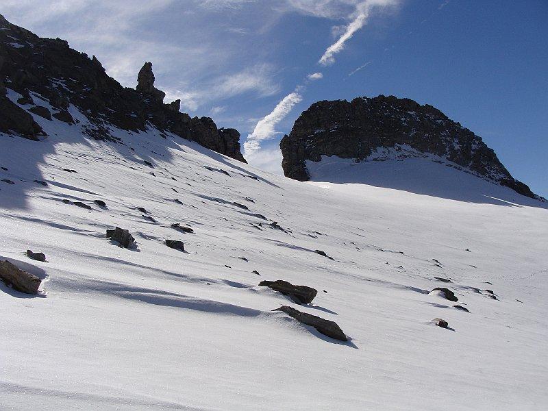 il ghiacciaio con il niblè