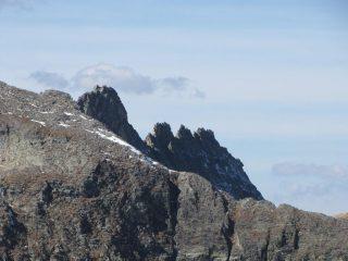 l'elegante cresta dei rochers cornus