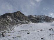 i resti del ghiacciaio del sommelier