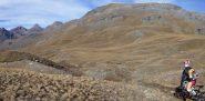 Discesa nel lungo vallone del Grauson