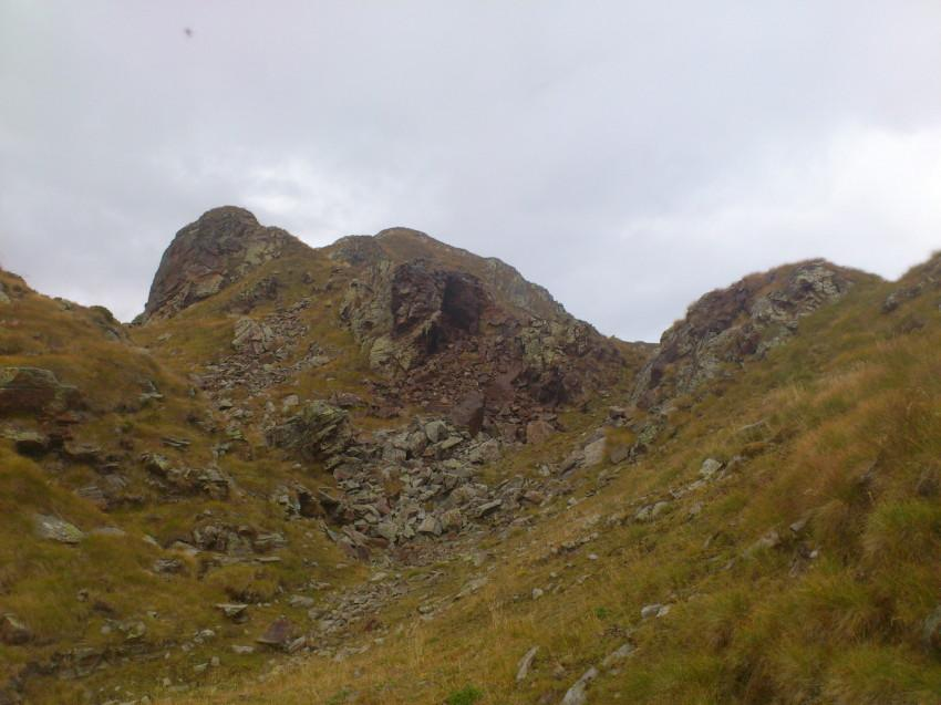 parte alta/sommità della cima delle Croci