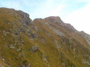 Cima delle Croci ripresa poco sotto il colle del Vallè, sul versante di Riva Valdobbia
