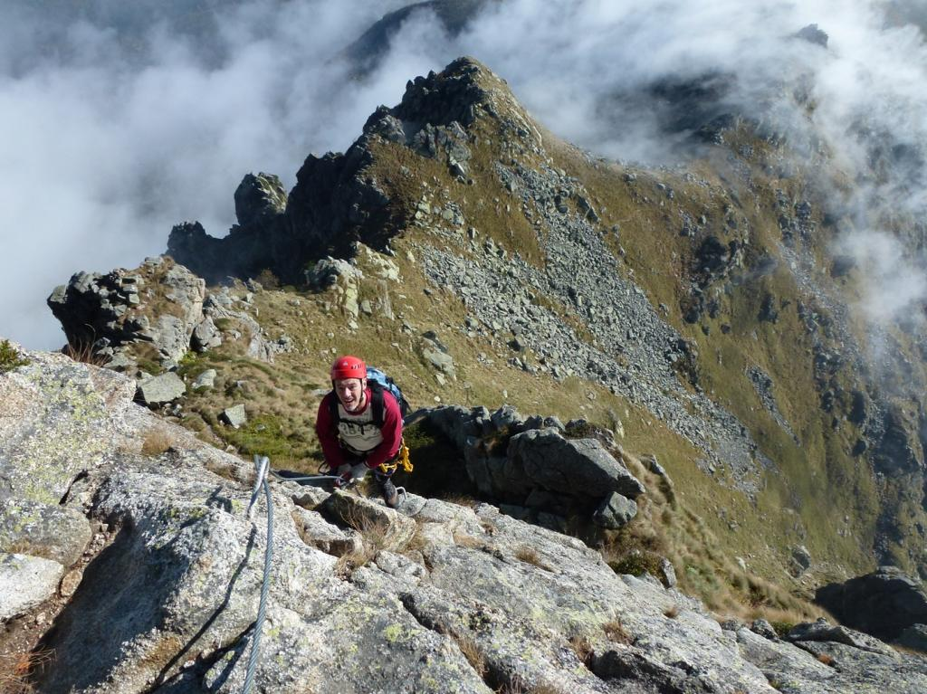 Mucrone (Monte) Ferrata del Limbo 2012-10-07
