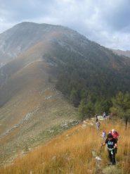 salendo al Monte Muretto
