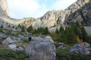 usciti dal bosco il vallone si allarga (7-10-2012)