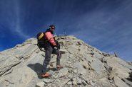 io a pochi metri dalla cima del Panestrel (7-10-2012)