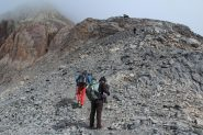 la prima parte della cresta Sud del Panestrel (7-10-2012)