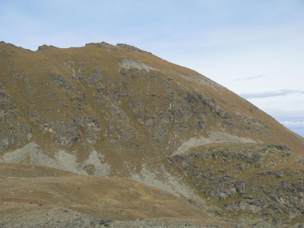 Chandelly (Mont) o Testa della Mentò dal Colle del Nivolet per il Col Manteau 2012-10-08