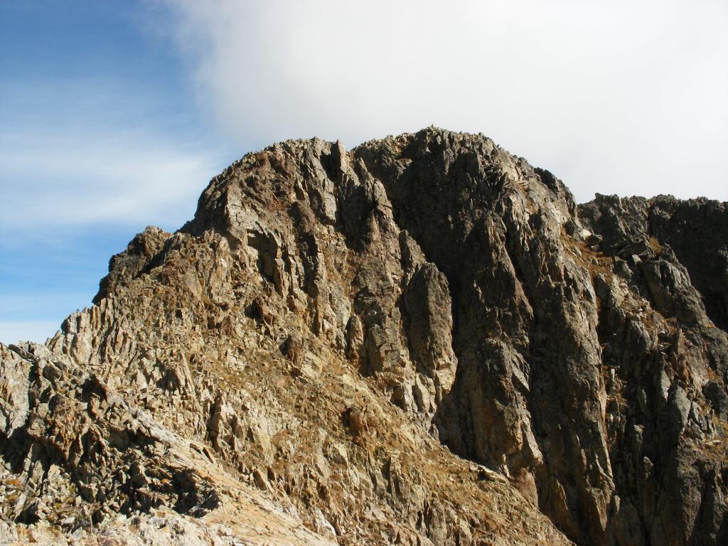 Il Mont Neiglier da ovest