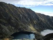 Il lago d'Eugio dalla vetta